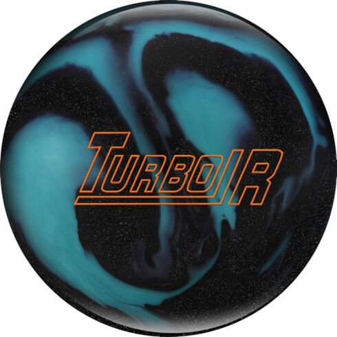 Turbo R Black Sparkle/Aqua 11 Lbs