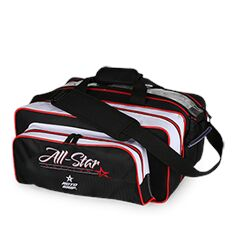 Double Tote, All Star, Black/White/Red