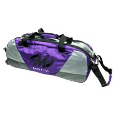 Triple Tote, Ballistix, purple