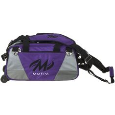 Double Tote, Ballistix, purple