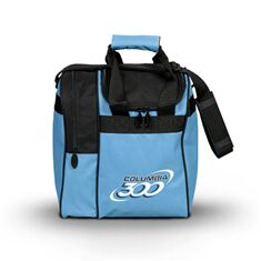 Single Tote, C300, Aqua/Black