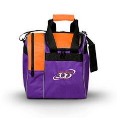 Single Tote, C300, Purple/Orange
