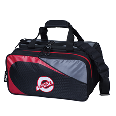 Double Tote, Players 2B, Black/Red