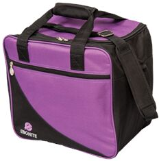 Single Tote, Basic, Purple