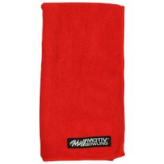 Motiv Rally Microfiber Towel, red